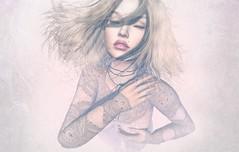 Iced (Lizz Avon) Tags: carolg alice blond catwa dreams hair ice lara lips maitreya mesh meshbodylara owl pink secondlife tattoo white winter