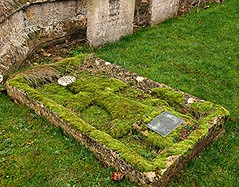 Emerald Cross! (springblossom3) Tags: chipping campden religion grave churchyard worship respect cotswolds history relic cross nature moss