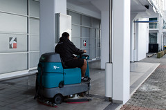 541836868 (Complete Care Maintenance) Tags: middle men polishing caretaker working cleaning individuality business indoors outdoors fulllength cleaner professionaloccupation auckland newzealand flooring financialdistrict cityscape equipment buffing employed nzl machinery