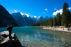 moraine lake (mike shih) Tags: morainelake rockymountains canada a7r2