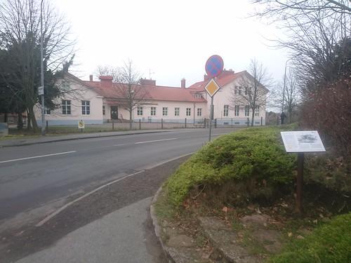 Södervångskolan & fd gravhög Åkarp