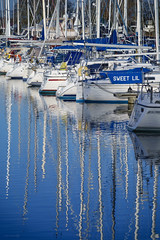 Sweet Lil (ShrubMonkey (Julian Heritage)) Tags: yachts boats marina refelection water sweetlil chichester harbour coast sonyalpha nautical