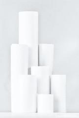 just white paper (sure2talk) Tags: macromondays justwhitepaper paper towers white whiteonwhite nikond7000 nikkor85mmf35gafsedvrmicro flash speedlight sb900 offcamera diffused softbox