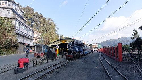 Toy trains at Ghoom Station