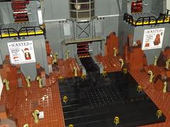 DSCF2216 (Nilbog Bricks) Tags: star wars lego moc minifigures stormtrooper base barracks