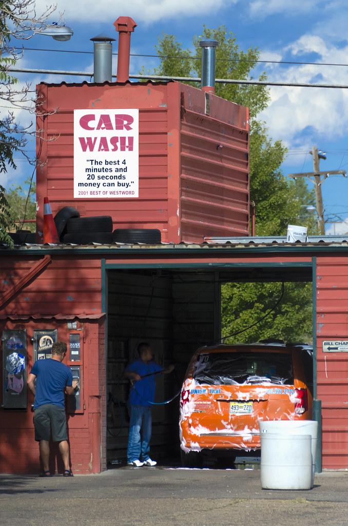Hot Water Car Wash Denver