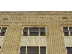 Grady County Courthouse in Chickasha, Oklahoma (kevinellison62) Tags: gradycountycourthouse courthouse judicialbuilding artdeco architecture building oldbuilding chickasha oklahoma court