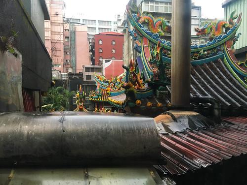 Temple roof top Taipei