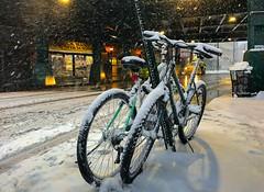 Sprint tomorrow 明天再飆馳 (kaising_fung) Tags: winter snow parked still pair couple