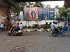 IMG_20140827_132206 (PaulNeedham) Tags: trump realdonaldtrump trumptowers homelessness mumbai homeless poverty wealth billionaire money contrast