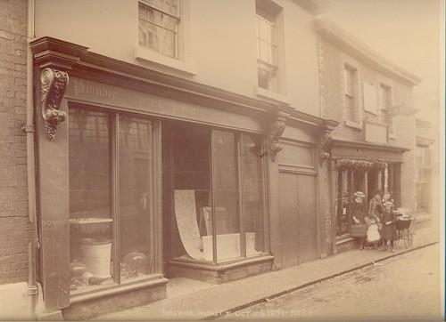 William Horatio Chadwick, plumber & house decorator, 9 Market Street - 1891