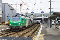 BB75437 - Train 464021 Rennes>La Brohinière (Alan Jaffré) Tags: bb75000 bb75437 fret sncf 464021 rennes la brohinière gare transcéréales céréales
