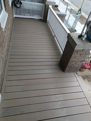 2017-02-28 14.08.46 (whiteknuckled) Tags: frontporch ouroldrowhouse porch front yard exterior deck decking railing outside