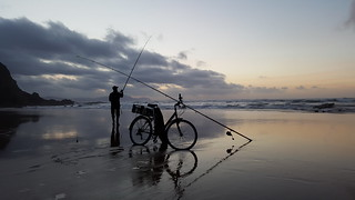 Pescando una puesta de sol