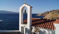 Hidra (tgrauros) Tags: hidra grècia illes islas mediterrània mar campanar
