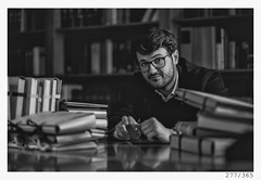 book Worm Adi (Aljaž Anžič Tuna) Tags: 277 277365 365 book worm books library old oldbooks scriptures fascicles adi explore photo365 project365 portrait portraitunlimited people onephotoaday onceaday dude glasses 35mm 365challenge 365project d800 dailyphoto day dof bw blackandwhite black blackwhite beautiful boy white nikond800 nikkor nikkor85mm nice 85mmf18 f18 monocrome monochrome man journalist