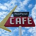The Midpoint Cafe in Adrian, Texas