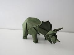 Triceratops (Fumiaki Kawahata) (maredo77) Tags: origami triceratops kawahata