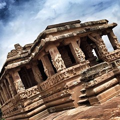 """aihole (Pattadakal village) is an important place well known for Chalukya monuments 