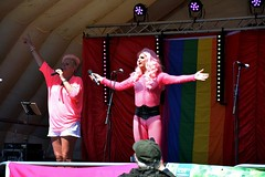 """Jazmin and Trixie Lyx on stage at PLymouth Pride 2015 • <a style=""""font-size:0.8em;"""" href=""""http://www.flickr.com/photos/66700933@N06/20630449815/"""" target=""""_blank"""">View on Flickr</a>"""