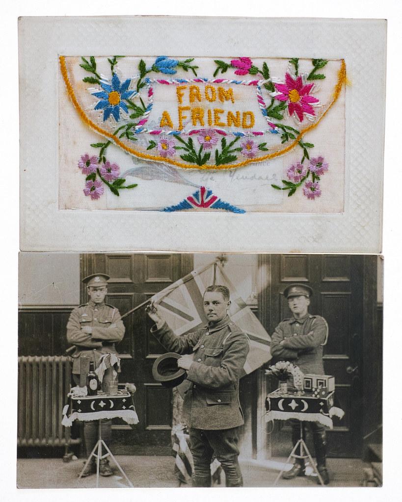 Carol Primrose - Family archive WW1 Family/social history