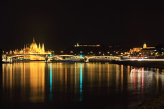 IMG_3660 (maro310) Tags: bridge reflection water skyline architecture night canon river lights hungary waterfront view outdoor budapest unesco duna danube houseofparliament donau budacastle folyo 70d margithid 3000v120f 365project varosnezes varosnegyed felheviz