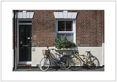 Oxford Bikes (Pictures from the Ghost Garden) Tags: windows light urban architecture buildings landscape nikon doors shadows 28mm bikes bicycles oxford oxfordshire voigtlnder urbanlandscape colorskopar d7100
