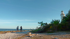 Farfyr (Pascal_t_ih) Tags: people sun lighthouse holiday beach nature landscape holidays sweden phare