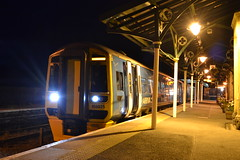 Arriva Trains Wales Express Sprinter 158825 (Will Swain) Tags: uk travel england west wales train britain ss transport cymru rail railway august trains line welsh railways 158 28th cambrian machynlleth 2015