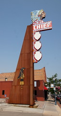 Chief Theater Sign (BOB WESTON) Tags: pocatelloidaho