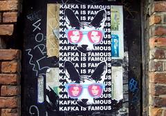 Paper street art in Manchester (Tony Worrall) Tags: show street city urban streetart color wall manchester graffiti paint artist colours arty northwest painted spray urbanart made walls manc daub gmr manchesterstreetart manchesterurbanart d7606