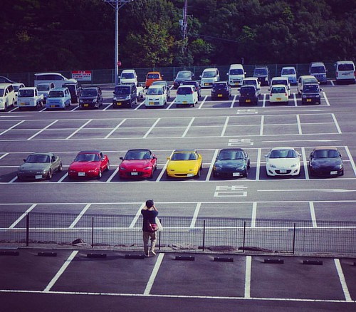 Club Touring! #mx5 #miata #mazda #lovecars #zoomzoom #jinbaittai #topmiata #mx5life #miatalife #miatagram #mx5graphy #cars #japan #wakayama #ClubEight #Club8 #miataClub #roadster #Touring