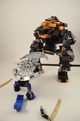 Thing again your idea while I take you appart... (Ddke) Tags: lego scifi mech