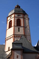 Mainz, St. Stephan, Glockenturm (belfry) (HEN-Magonza) Tags: mainz kircheststephan stephanskirche rheinlandpfalz rhinelandpalatinate ststephenschurch belfry belltower deutschland germany
