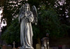 Broken (FredrikAndreasson) Tags: broken statue stone angel death evening cemetary peaceful staty ängel kyrkogården östra östrakyrkogården