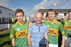 A delighted Tony Mahon and his boys (ballymorebugle) Tags: ireland kildare ballymorebugleballymoreeustace
