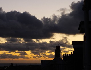 6pm the day the clocks go back - from my window - explore 25 Oct 2015