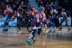 rebels_vs_panic_L3506426 1 (nocklebeast) Tags: ca usa santacruz rollerderby rollergirls zombies vampires skates organicpanic santacruzderbygirls redwoodrebels