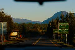 Ruta Interlagos, Sur de Chile (Agustín Ignacio Nicolás Vera Valle-Lugine) Tags: chile sunset america atardecer carretera colores sur sudamerica surdechile chilenos coñaripe surdeargentina