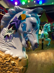 RCCL Oasis of the Seas Colorful Horse (Nancy D. Brown) Tags: horse carousel royalcaribbean carouselhorse rccl oasisoftheseas