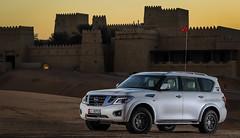 NISSAN PATROL DESERT EDITION (SAUD AL - OLAYAN) Tags: nissan desert country nation uae unitedarabemirates concepts liwa 06000000 06007000 cvkc qasralsarab cgverghese