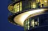 exzenter beleuchtett-1 (dirk4630) Tags: architecture concrete haus architektur bochum bauwerk hochhaus kurve ehrenfeld exzenter