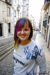 Rainbow Hair Tips (wip-hairport) Tags: original haircut color portugal fashion hair artist cut lisboa lisbon creative style wip professional hairdresser salon shape newlook inspire hairstyle alternative personalized haircolor stylist rainbown hairport hairlove wiphairport