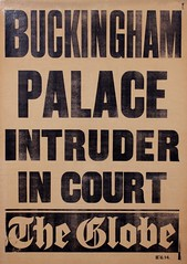 Suffrage in the press: Buckingham Palace Intruder in Court1914