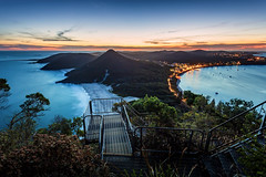 Tomaree Head Summit Walk (dean.white) Tags: australia au nsw newsouthwales portstephens shoalbay bay mounttomaree mttomaree mountain sunset beach summit ocean zenithbeach coast coastline tomareenationalpark canoneos6d canonef1740mmf4l