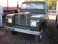 VAR 722J (Nivek.Old.Gold) Tags: 1971 pickup rover land series 88 2a series2a cheffins 2286cc