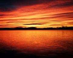Sailor's Warning (DASEye) Tags: davidadamson daseye nikon sunrise dawn lake sky skies reflected reflections reflection