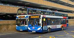 Gemini & Enviro 300 (Travis Pictures) Tags: peterborough queensgatebusstation queensgate city citycentre bus buses busesuk busstation stagecoach transport publictransport nikon d5200 photoshop delaine citi