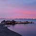East Hamilton Beach at Dawn