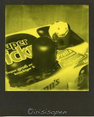 Man sind die... # 007 # Polaroid SX70 ND-Filter Impossible Yellow600 Third Man Records Edition - 15-1-2017 (irisisopen ☼f/8☀︎∑≦light) Tags: polaroid sx70 folding impossible yellow600 third man records edition monochrome irisisopen yellow